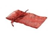 Organzapåse Röd Stor 36x20cm