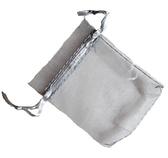Organzapåse Silver 7x9cm