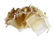 Organzapåsar Guld 7x9cm 5st
