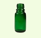 Glasflaska Grön 10ml inkl droppkork